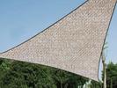 Sonnensegel Dreieck Champagner 5m - Sonnenschutz für Balkon / Terrassensegel