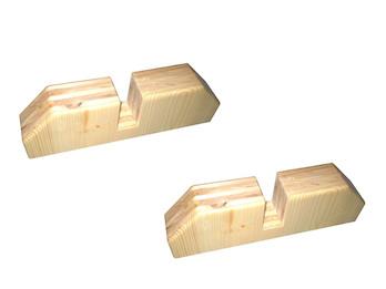 Holzständer / Standfuß SLOWI für Vitalheizung Heizpaneele victory oder premium