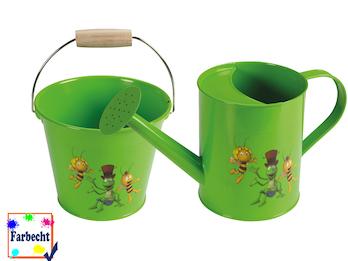 Gartenspielzeug im Set Eimer und Gießkanne -DIE BIENE MAJA-