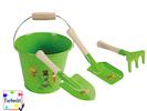 Gartenspielzeug im Set Eimer / 3er Set Sandspielzeug -DIE BIENE MAJA-