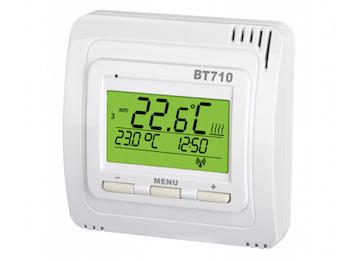 Funk-Raumthermostat, Thermostat digital, 7 Wochenprogramme, Kindersicherung