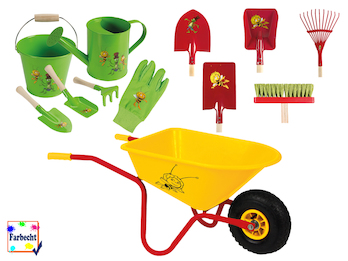 Großes Gartenspielzeug-Set für Kinder -DIE BIENE MAJA-