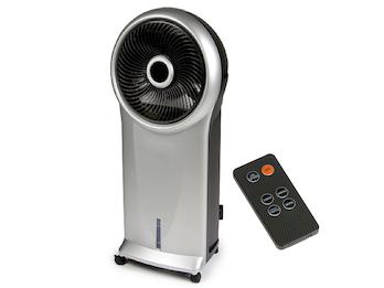 Standventilator oszillierend Sprühnebel Luftbefeuchtung Timer & Fernbedienung