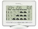 WetterDirekt-Station, Thermometer, 5-Tage Prognose,silber-weiß