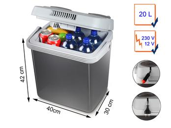 Thermoelektrische Kühlbox 20 Liter 12/230 Volt Energieklasse A++