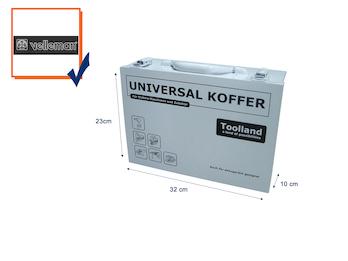 Werkzeugkoffer Werkzeugkiste Werkzeugkasten Universalkoffer 32x23x11cm