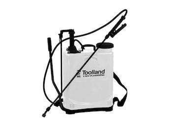 Rückensprühgerät, Drucksprühgerät, Gartenspritze Toolland, 16 Liter