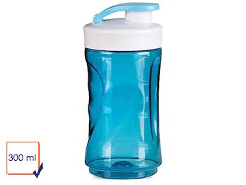 Ersatzbehälter / Trinkflasche für Smoothie-Maker 300ml, blau