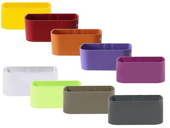 Magnetischer Topf für Wandaufbewahrung, Form Kasten klein, Classic Line