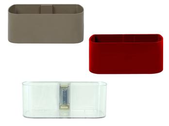 Magnetischer Topf für Wandaufbewahrung, Form Kasten groß, Magnet abnehmbar