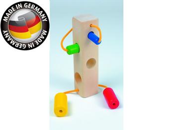 Holzspielzeug für die Kleinsten, motorikfördernd, Made in Germany, Stöpselholz
