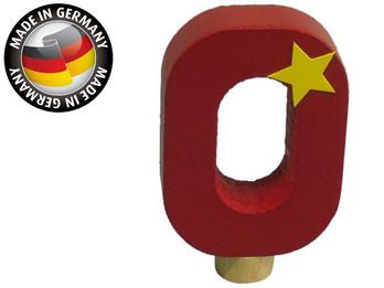 Geburtstagszahl aus Holz, passend für Niermann-Dekoartikel, Happy-Zahl 0