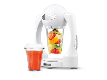 Smoothie Maker Standmixer inkl. Trinkbecher, Turbo Funktion, 180 Watt, 600 ml