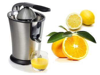 Elektrische Zitruspresse Zitronen & Orangensaftpresse Kleiner Profi Entsafter