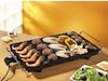 Teppanyaki XXL Grillplatte 36x60cm Japanischer Elektro Tischgrill Indoor Tepan