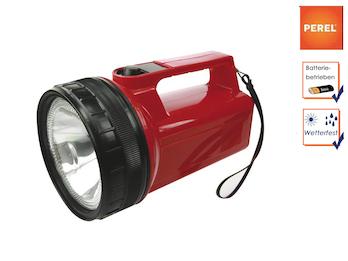 Wetterfeste Krypton Taschenlampe / Handlampe, ultraheller Lichtstrahl