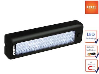 Arbeitsleuchte Handlampe, magnetisch, batteriebetrieben, 72LEDs 220 x58 x35 mm