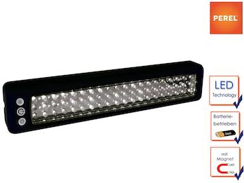 Arbeitsleuchte Handlampe, magnetisch, batteriebetrieben, 60 LEDs, 8,5x5,5x3cm