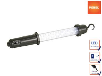 Arbeitsleuchte Handlampe, batteriebetrieben, ABS-Gehäuse, 60 LEDs