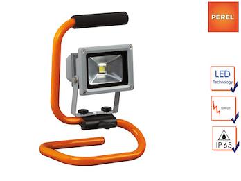 Tragbarer Baustrahler LED Fluter Arbeitsscheinwerfer 10W mit 1,5m Kabel