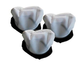 3er-Set Ersatz Staubfilter für Handstaubsauger DO211S Staubsaugerbeutel
