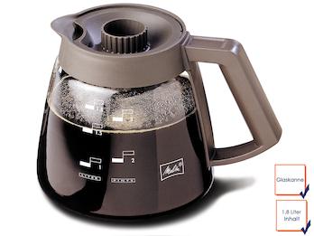 Profi Melitta Glaskanne, für gängige Kaffeemaschinen, 1,8 Liter