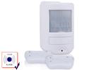 Mini Raum-Alarm / Hausalarm 105 dB mit 2 Fernbedienungen, Inkl. Batterien