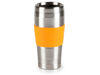 My Coffee To Go Thermobecher - Orange 400ml - Kaffeebecher zu DO439K