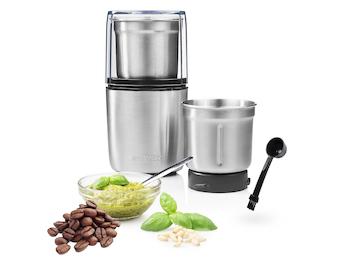 Pesto Maker/ Multi Zerkleinerer ( fest/flüssig) mit 2 Edelstahlmessern