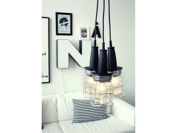 Dekorative Arbeitslampe Hängelampe mit 5m Kabel für viele Einsatzmöglichkeiten