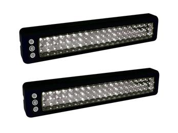 2er Set Arbeitsleuchte Handlampe, magnetisch, batteriebetrieben, 60 LEDs