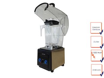 Profi Standmixer, 1500 Watt, 2100U/min, 8 Programme, Sicherheitssystem