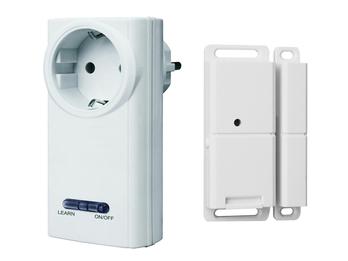 Funk-Abluftsteuerung für Dunstabzugshauben / Funk-Schalter für Fenster + Türen
