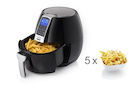 Digitale XL Heißluftfritteuse 8 Programme, frittieren ohne Öl 3,2Ltr 1500 Watt