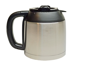 Edelstahl Thermoskanne 10 Tassen für Kaffeemaschine DO474K