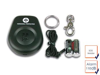 Mini-Taschenalarm Überfallalarm SOS-Notruf Personen-Alarm 110dB
