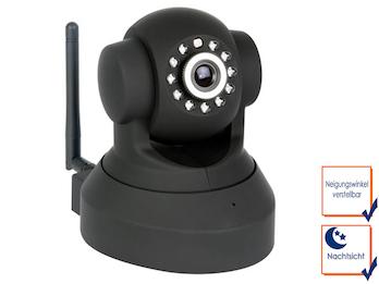 Motorisierte IP-Kamera - Für den Innenbereich, IR - PT - WIFI, mit Nachtsicht