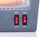 Elektrischer Quartz Heizstrahler mit 800Watt - mobile Zusatzheizung Bad / Garage
