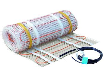 Fußbodenheizung / Heizmatte 80W/qm, 30x0,5m, ideal f. Renovierung & Sanierung