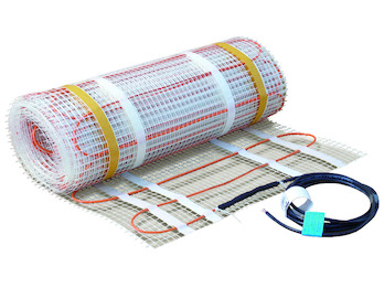Fußbodenheizung / Heizmatte 80W/qm, 45x0,5m, ideal f. Renovierung & Sanierung