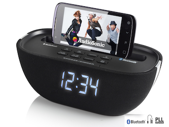 Uhrenradio Bluetooth, USB-Anschluss, PLL-Tuning, Snooze-Funktion