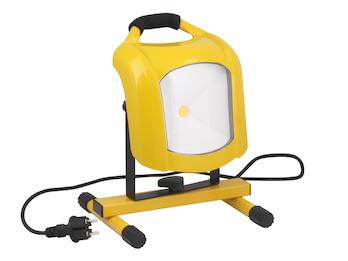 Tragbarer LED Baustrahler 33 W, 2455 Lumen, 5000 Kelvin