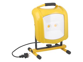 Tragbarer LED Baustrahler 65 W, 5110 Lumen, 5000 Kelvin