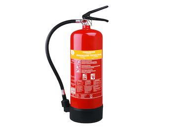 Schaumlöscher 6 Liter, Brandklasse A, B, Brandbekämpfung