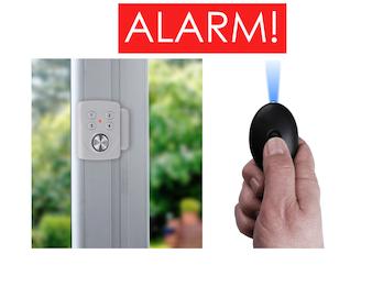 Sicherheits-Set = Mini-Alarm für Fenster, Tür und Personenalarm