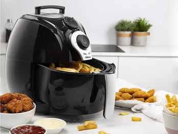 Heißluftfritteuse Crispy Fryer XL, 5 Portionen - ohne Öl, 3,2 Liter, 1500 Watt
