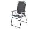 Faltbarer Campingstuhl / Klappstuhl, Sitzhöhe 44cm, Belastbar bis 120kg
