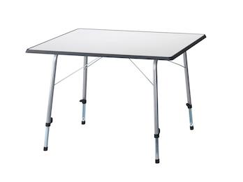 Camping Tisch - Faltbar und Höhenverstellbar, 80 x 60 x 72/54 cm