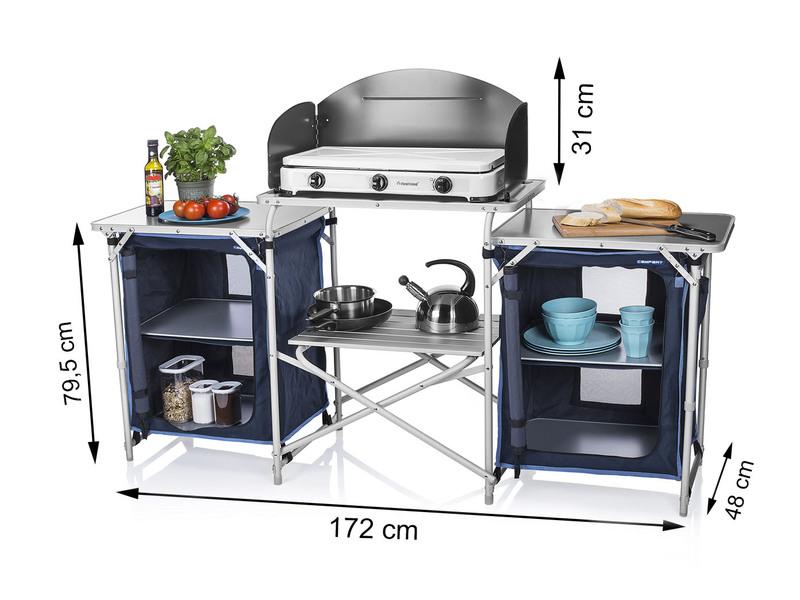 Outdoorküche Klappbar Preisvergleich : Xxl stabile campingküche faltbar kaufen setpoint.de