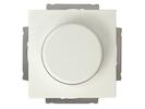 Einsatz Helligkeitsregler / Dimmer aus Kunststoff in Weiß, 50-300 Watt